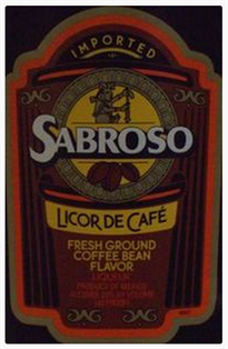 Sabroso Licor de Cafe 750ml - Case of 12
